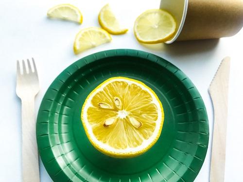 la vaisselle jetable biodégradable